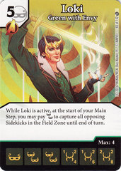 Loki - Green with Envy (Die & Card Combo)