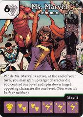 Ms. Marvel - Inhuman (Die & Card Combo)