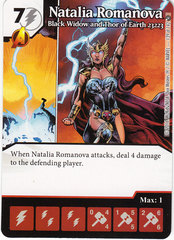 Natalia Romanova - Black Widow and Thor of Earth 23223 (Die & Card Combo)
