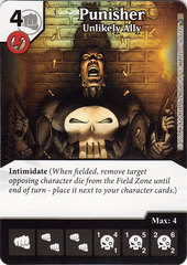 Punisher - Unlikely Ally (Die & Card Combo)