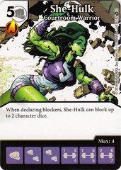 She-Hulk - Courtroom Warrior (Die & Card Combo)