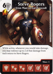Steve Rogers - Iron Man of Earth 10208 (Die & Card Combo)