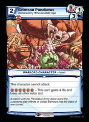 Crimson Pandiatus on Channel Fireball