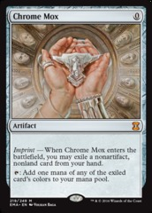 Chrome Mox on Channel Fireball