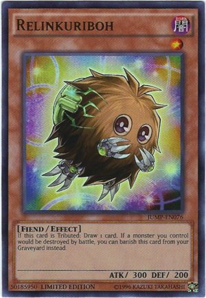 Relinkuriboh - JUMP-EN076 - Ultra Rare - Limited Edition