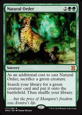 Natural Order - Foil