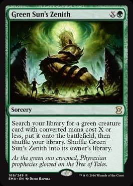 Green Suns Zenith - Foil