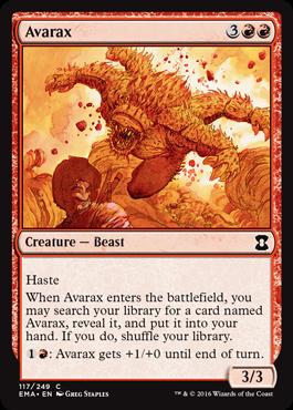 Avarax - Foil