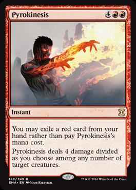 Pyrokinesis - Foil