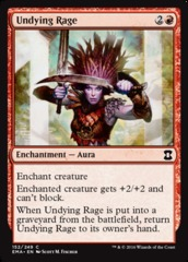 Undying Rage - Foil