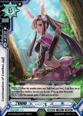 Continuation of Combat, Aoi - BT01/100EN - U