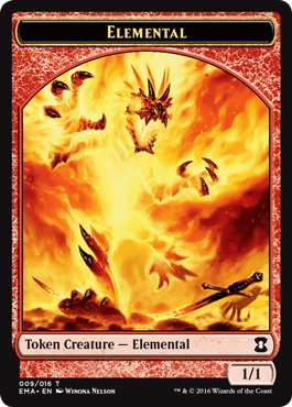 Elemental Token - Red (Winona Nelson)