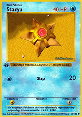 Staryu - 65/102 - Common - 1st Edition