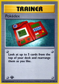 Pokedex - 87/102 - Uncommon - 1st Edition