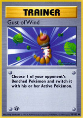 Gust of Wind - 93/102 - Common - 1st Edition