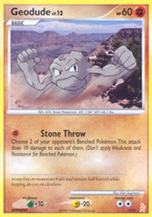 Geodude 1/12 Non-Holo Promo - Lucario Trainer Kit Exclusive