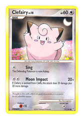 Clefairy - 77/130 - Common on Channel Fireball