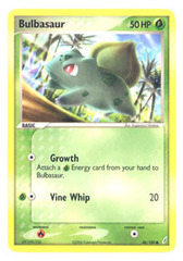 Bulbasaur - 46/100 - Common on Channel Fireball