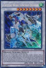 Crystal Wing Synchro Dragon - SHVI-EN049 - Secret Rare - Unlimited Edition