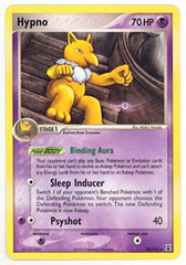 Hypno - 23/113 - Rare on Channel Fireball