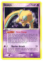 Deoxys (Defense) - 18/107 - Rare on Channel Fireball