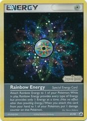 Rainbow Energy EX Legend Maker - 81/92 - Foil Sneak Peek Promo