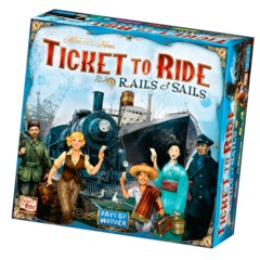 DO7226 - Ticket to Ride: Rails and Sails