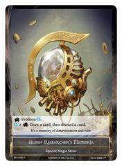 Aloof Researcher's Memoria - BFA-098 - R - Full Art on Channel Fireball