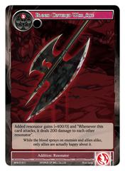 Blood Covered War Axe - BFA-019 - C - Foil