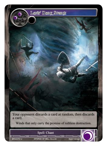 Lapis' Dark Storm - BFA-070 - U - Foil