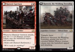Hanweir Garrison // Hanweir, the Writhing Township - Foil