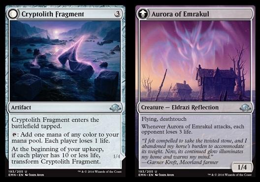 Cryptolith Fragment // Aurora of Emrakul - Foil