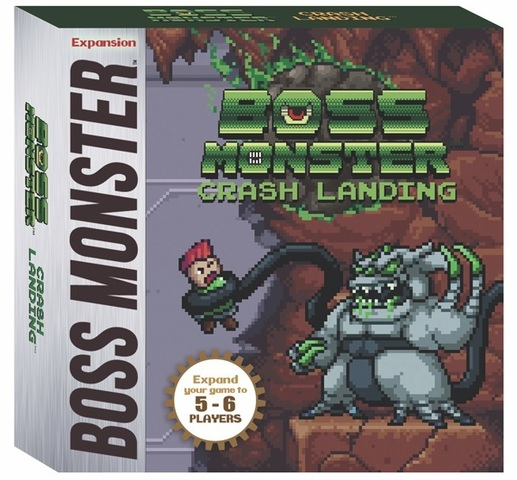 Boss Monster Crash Landing Expansion
