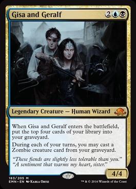 Gisa and Geralf - Foil