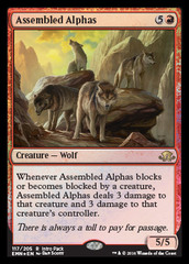 Assembled Alphas (Intro Pack Foil) on Channel Fireball