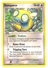 Dunsparce - 31/92 - Uncommon