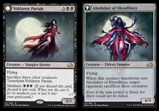 Voldaren Pariah // Abolisher of Bloodlines - Foil