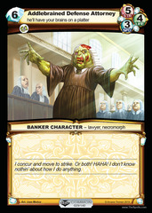 Addlebrained Defense Attorney - Foil