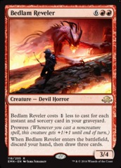 Bedlam Reveler on Channel Fireball