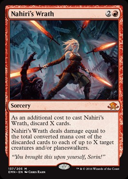 Nahiris Wrath - Foil