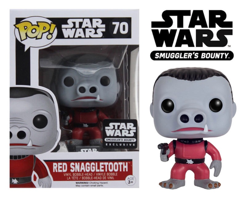Star Wars Series - #70 - Snaggletooth (Red) [Smuggler Bounty Exclusive]