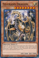 Felgrand Dragon - SR02-EN005 - Common - 1st Edition on Channel Fireball