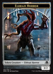Eldrazi Horror Token (Eldritch Moon)