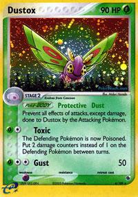 Dustox - 6/109 - Holo Rare