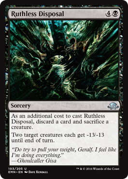 Ruthless Disposal - Foil