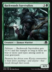 Backwoods Survivalists - Foil