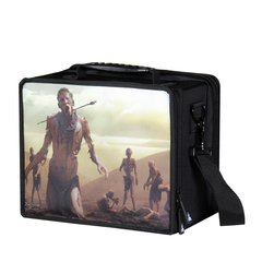 Pirate Lab Card Case: Small - Black Zombie