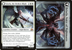 Gisela, the Broken Blade // Brisela, Voice of Nightmares - Foil - Prerelease Promo
