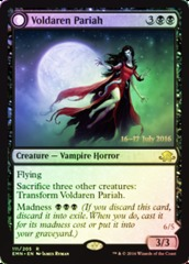 Voldaren Pariah // Abolisher of Bloodlines - Foil - Prerelease Promo