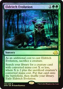 Eldritch Evolution - Foil - Prerelease Promo